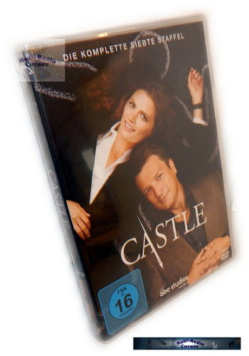 Castle - Die komplette Staffel/Season 7 [DVD]