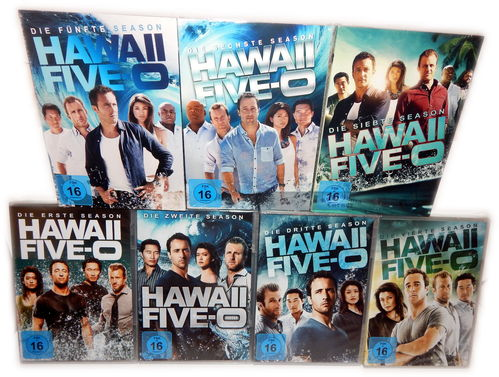 Hawaii Five-0 (5-0) Set - Die komplette Staffel/Season 1,2,3,4,5,6,7 [DVD] 43-Disc