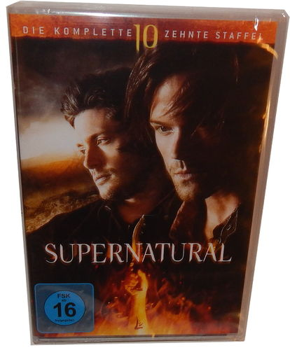 Supernatural - Die komplette Staffel/Season 10 [DVD] 6-Disc