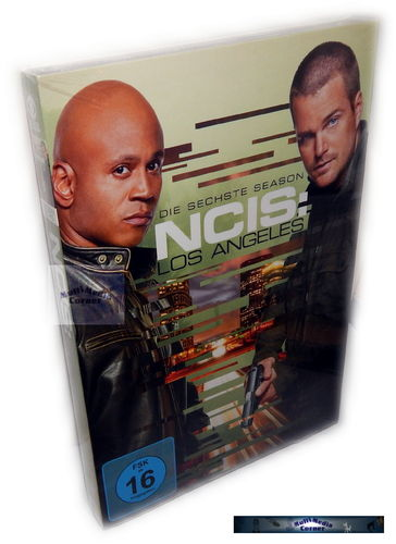 NCIS Los Angeles (L.A.) - Die komplette Staffel/Season 6 [DVD]