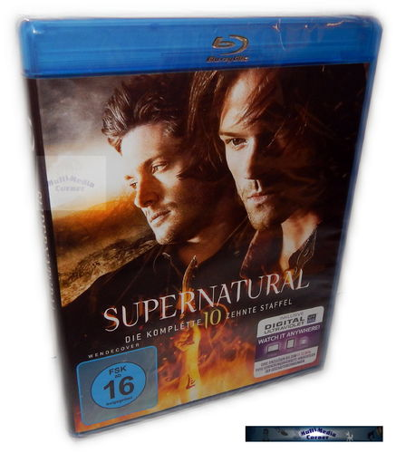 Supernatural - Die komplette Staffel/Season 10 [Blu-Ray] 4-Disc