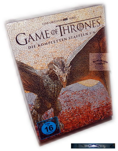 Game of Thrones - Die komplette Staffel/Season 1,2,3,4,5,6 [DVD] limited