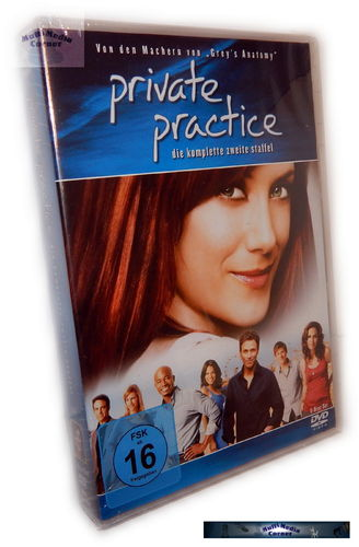 Private Practice - Die komplette Staffel/Season 2 [DVD]