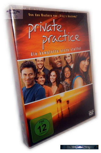 Private Practice - Die komplette Staffel/Season 1 [DVD]