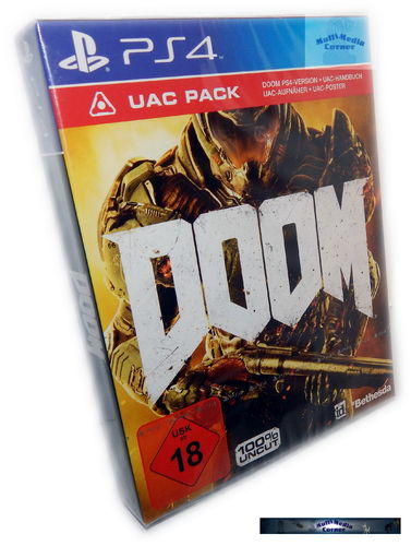 Doom - 100% uncut [Playstation 4] Special Edition inkl. UAC Pack