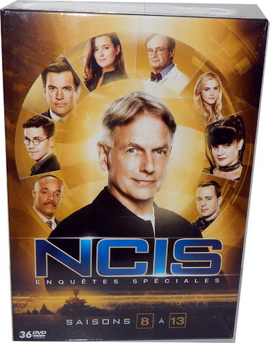 NCIS - Die komplette Staffel/Season 8,9,10,11,12,13 (8-13) [DVD] Box-Set