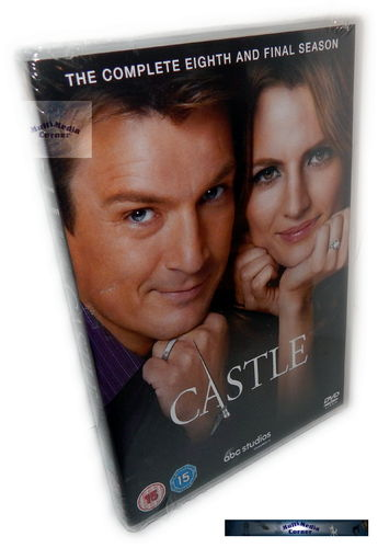 Castle - Die komplette Staffel/Season 8 [DVD]