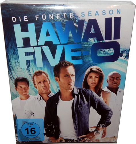 Hawaii Five-0 (5-0) - Die komplette Staffel/Season 5 [Blu-Ray]