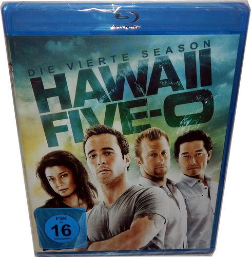 Hawaii Five-0 (5-0) - Die komplette Staffel/Season 4 [Blu-Ray]