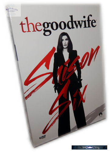 The good Wife - Die komplette Staffel/Season 6 [DVD] 6-Disc