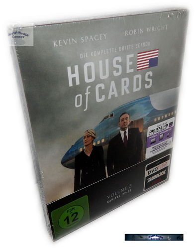 House of Cards - Die komplette Staffel/Season 3 [Blu-Ray] 4-Disc