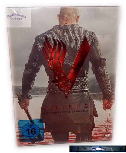 Vikings - Die komplette Staffel/Season 3 [DVD]