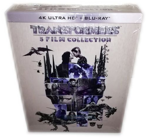 Transformers 1-5 Box Set [4K Ultra HD+Blu-Ray](Teil 1,2,3,4,5) 10-Disc (EU-Import)