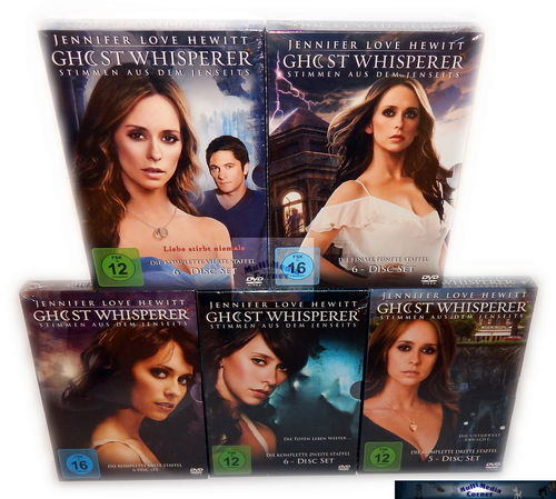 Ghost Whisperer - Die komplette Serie (Staffel/Season 1,2,3,4,5) [DVD]