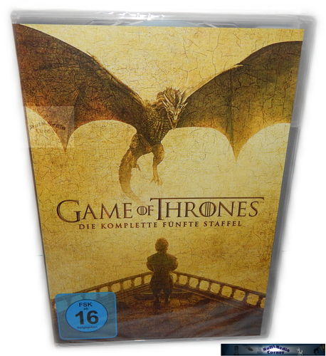 Game of Thrones - Die komplette Staffel/Season 5 [DVD]