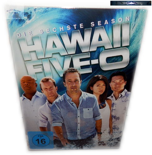 Hawaii Five O (5-0) - Die komplette Staffel/Season 6 [DVD]