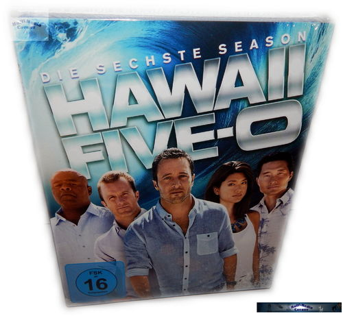 Hawaii Five-0 (5-0) - Die komplette Staffel/Season 6 [Blu-Ray]