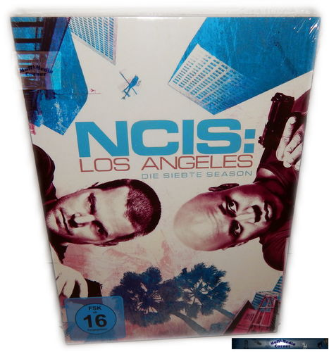 NCIS Los Angeles (L.A.) - Die komplette Staffel/Season 7 [DVD]