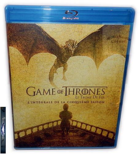 Game of Thrones - Die komplette Staffel/Season 5 [Blu-Ray] (Deutscher Ton)
