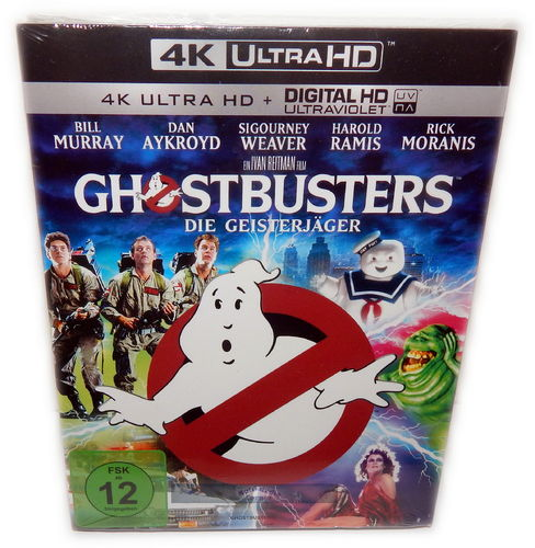 Ghostbusters [4K Ultra HD] (Bill Murray, Dan Aykroyd, Ivan Reitman)