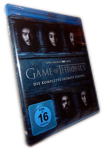 Game of Thrones - Die komplette Staffel/Season 6 [Blu-Ray]