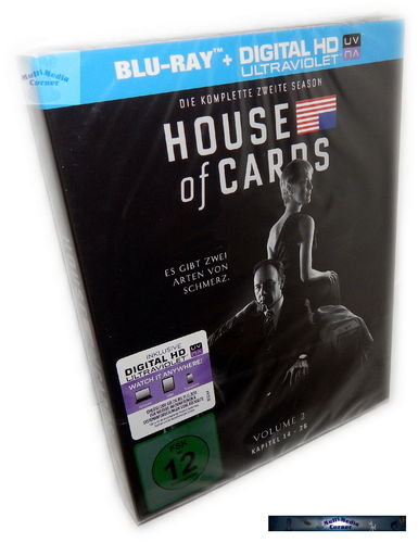 House of Cards - Die komplette Staffel/Season 2 [Blu-Ray] 4-Disc