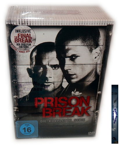 Prison Break - Die komplette Serie (inkl. The Final Break) [DVD] Staffel 1,2,3,4