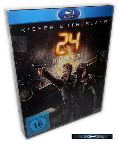 24 - Die komplette Staffel/Season 9 - Live Another Day [Blu-Ray]