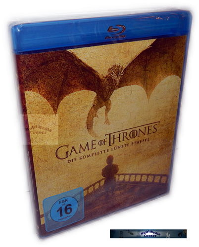 Game of Thrones - Die komplette Staffel/Season 5 [Blu-Ray]