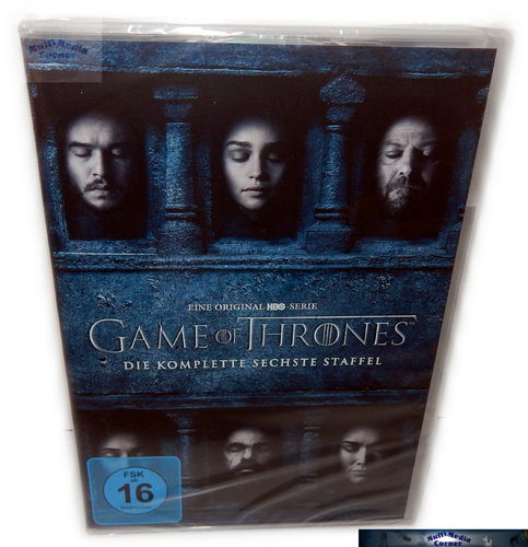 Game of Thrones - Die komplette Staffel/Season 6 [DVD]
