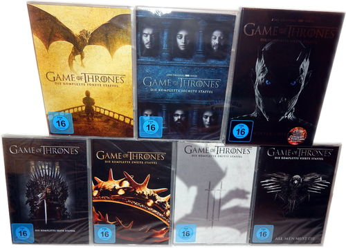 Game of Thrones - Die komplette Staffel/Season 1,2,3,4,5,6,7 [DVD] 35-Disc