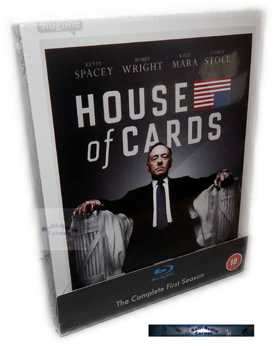 House of Cards - Die komplette Staffel/Season 1 [Blu-Ray] 4-Disc
