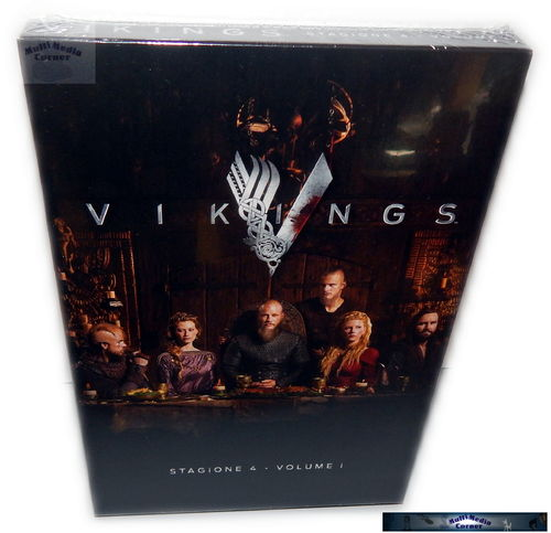Vikings - Staffel/Season 4 - Volume 1 (4.1) [DVD] 3-Disc (Deutscher Ton)