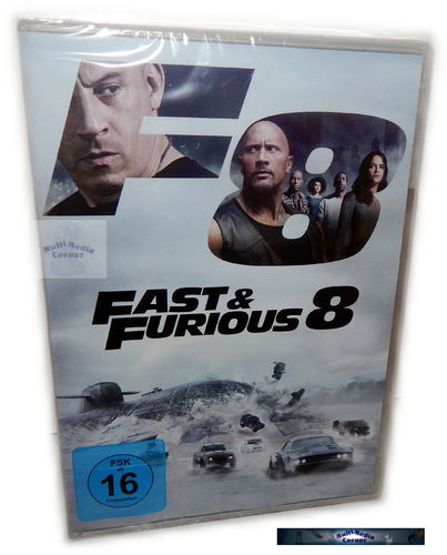 Fast & (and) the Furious 8 [DVD] The Fate of the Furious