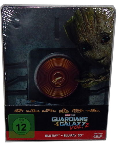 Guardians of the Galaxy - Vol. 2  3D (+2D) [Blu-ray] limited Steelbook