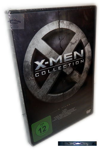 X-Men 1,2,3,4,5,6 (1-6) Collection [DVD]