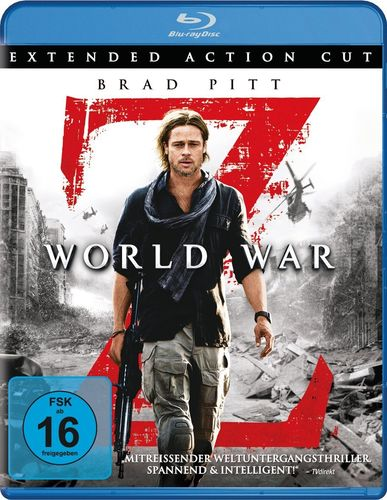 World War Z  [Blu-Ray] Extended Action Cut