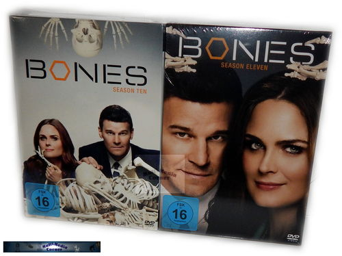 Bones SET - Staffel/Season 10 + 11 [DVD] 12-Disc