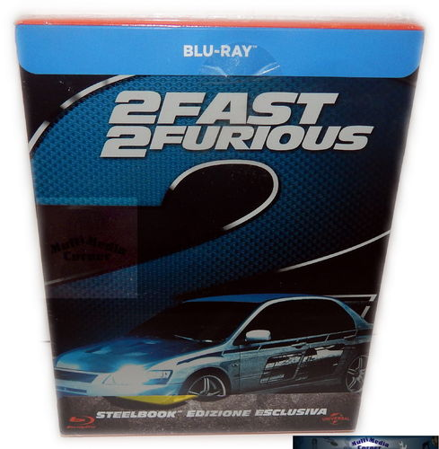 2 Fast 2 Furious - limited Steelbook [Blu-Ray] (Deutscher Ton)