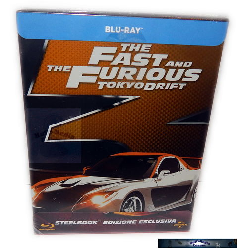 The Fast and (&) the Furious: Tokyo Drift [Blu-Ray] limited Steelbook (Deutscher Ton)