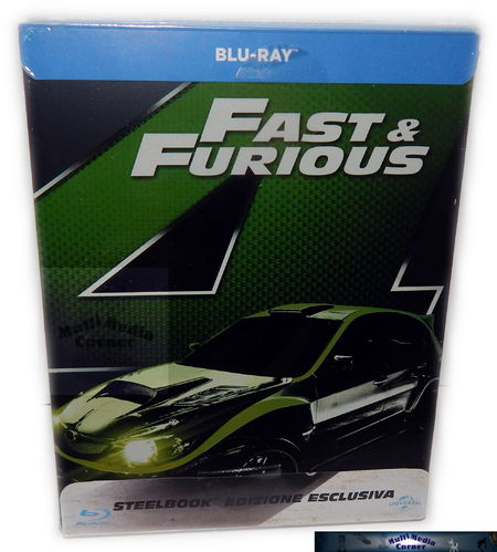Fast & (and) Furious (4)[Blu-Ray] limited Steelbook (Deutscher Ton)