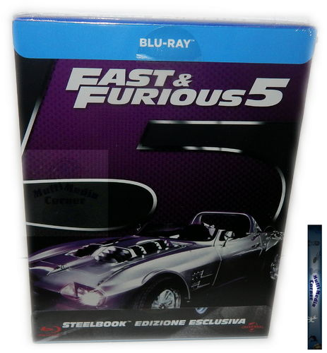 Fast & (and) Furious 5.[Blu-Ray] limited Steelbook (Deutscher Ton)