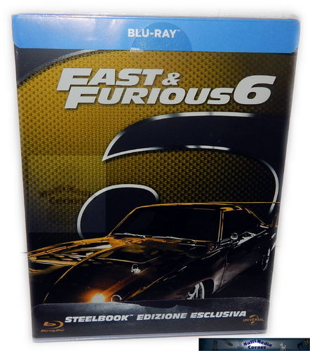 Fast & Furious 6.[Blu-Ray] limited Steelbook (Import, Englischer Originalton)