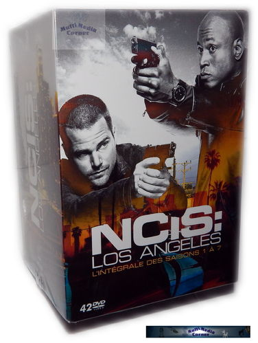 NCIS Los Angeles (L.A.) Box - komplette Staffel/Season 1,2,3,4,5,6,7 [DVD]