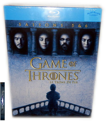Game of Thrones - Die komplette Staffel/Season 5+6 [Blu-Ray] Box-Set