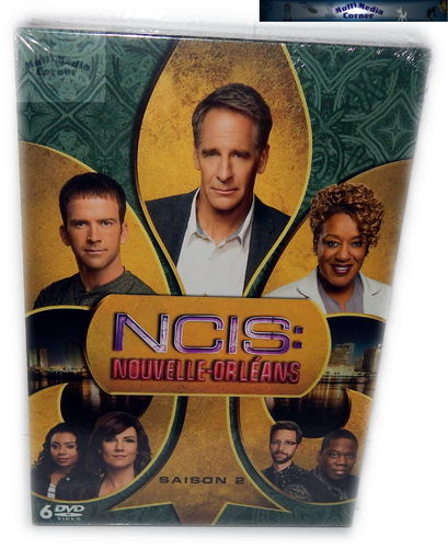 NCIS New Orleans - Die komplette Staffel/Season 2 [DVD] Import, Deutsch(er) Ton