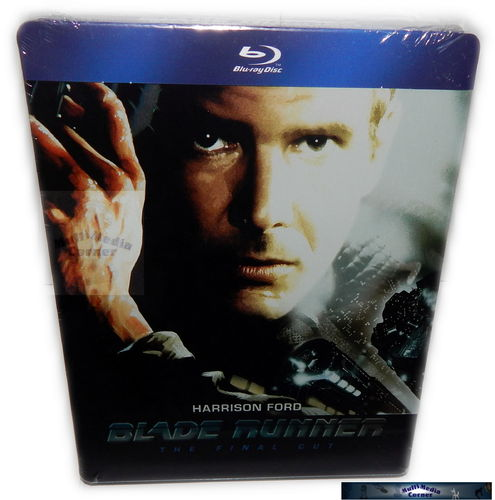 Blade Runner - Final Cut [Blu-Ray] 2-Disc limited Steelbook (geprägt)