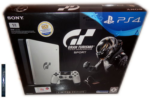 Sony PlayStation 4 Konsole slim - 1TB [PS4] Gran Turismo Sport limited Edition