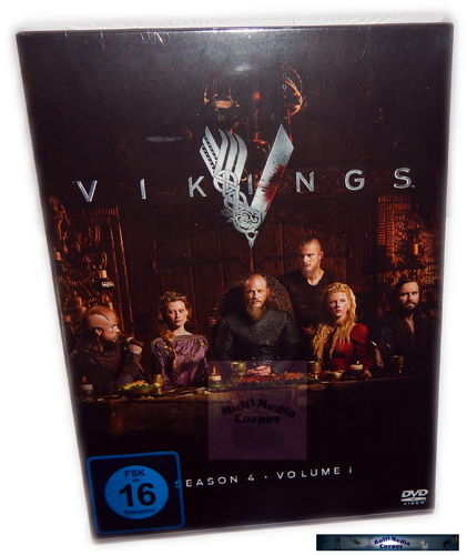 Vikings - Staffel/Season 4 - Volume 1 (4.1) [DVD] 3-Disc