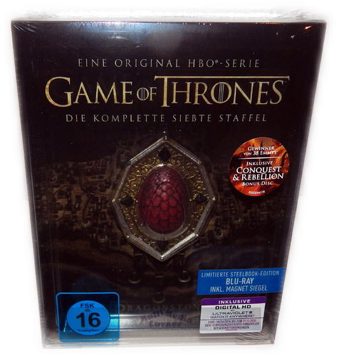 Game of Thrones - Die komplette Staffel/Season 7 [Blu-Ray] limited Steelbook